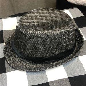 Other - Men's Gray Straw Fedora